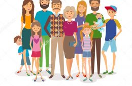 stock-vector-big-happy-family-several-generations-vector-illustration-468940751