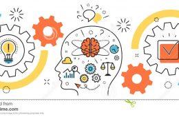 thought-process-business-startup-idea-mechanism-man-brain-b-flat-line-illustration-born-project-head-to-success-71755045